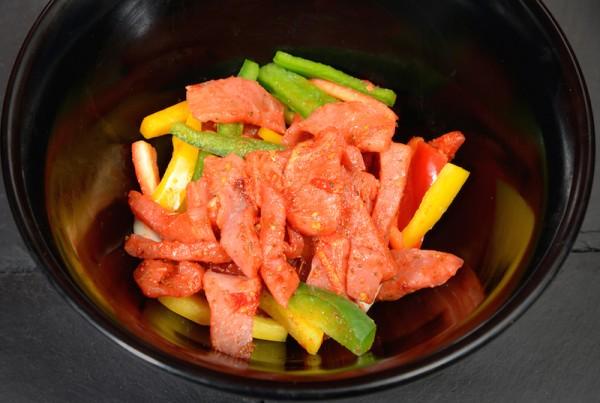 Italian Gammon Stir Fry