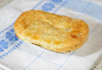 Oval Steak Pie