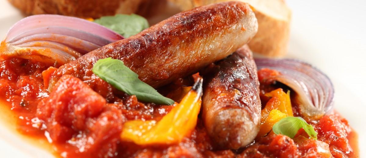 extra lean pork sausages
