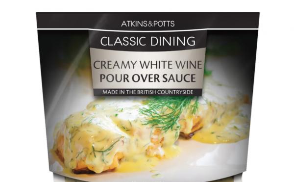 Atkins & Potts Creamy White Wine Sauce