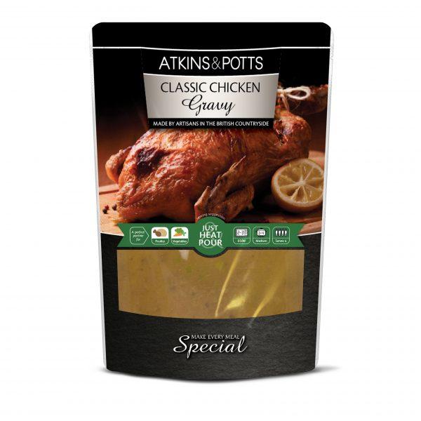 Atkins and Potts Chicken Gravy