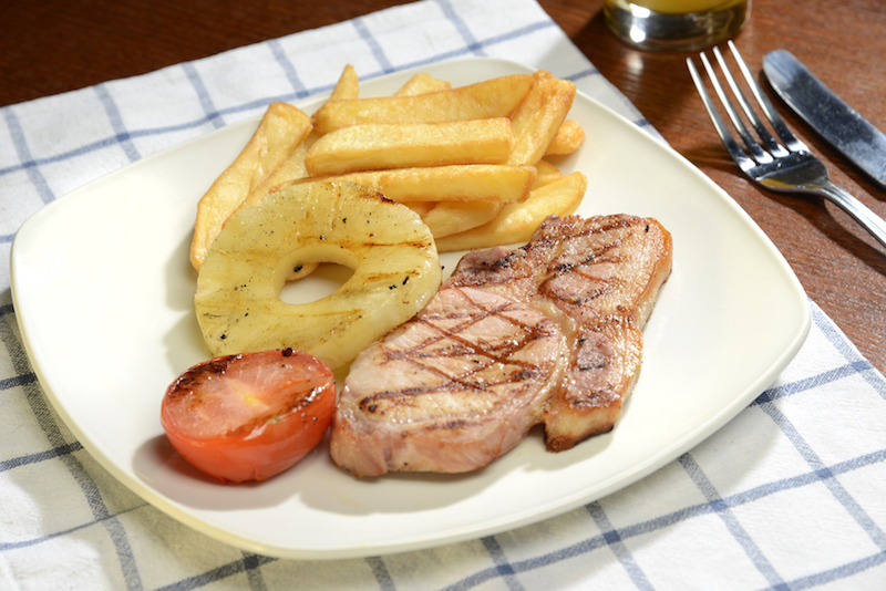 bacon chops