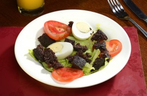 Black Pudding Salad