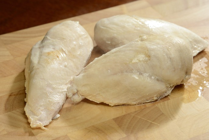 how to cook a plain chicken breast
