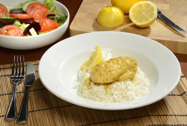 Lemon & Coriander Chicken