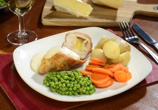 Parma ham and brie chicken