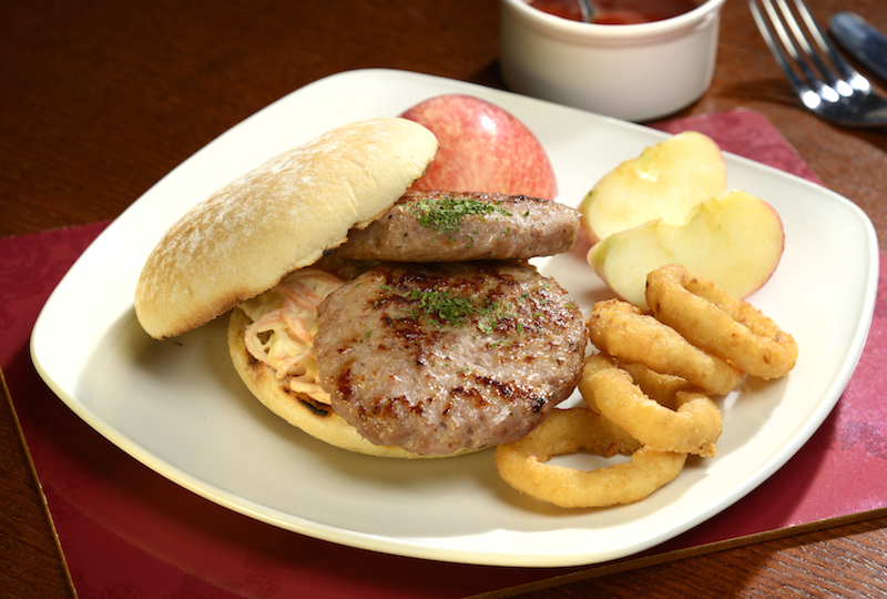 Pork And Apple Burgers Recipe — Dishmaps
