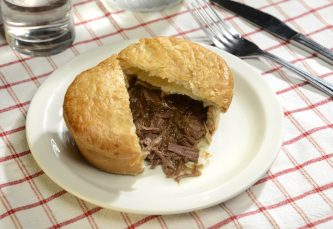 Steak & Gravy Pie