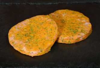 Pork and Garlic Burgers