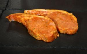 Sticky Maple Bacon Chops