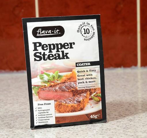 Pepper Steak Coater