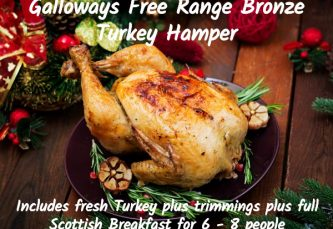 free range turkey hamper