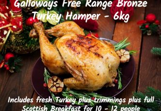 free range turkey hamper large