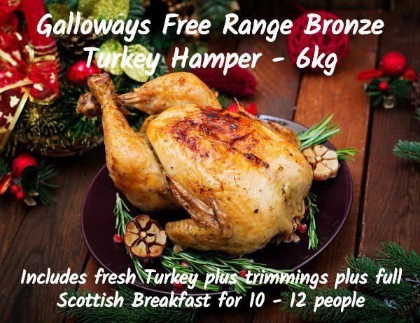 free range turkey hamper large