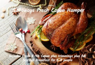 Fresh Capon Hamper