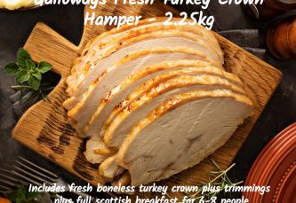 turkey crown hamper