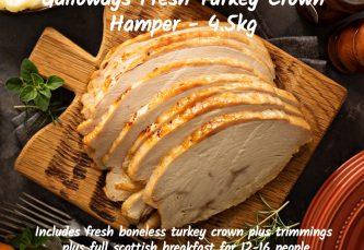 turkey crown hamper large