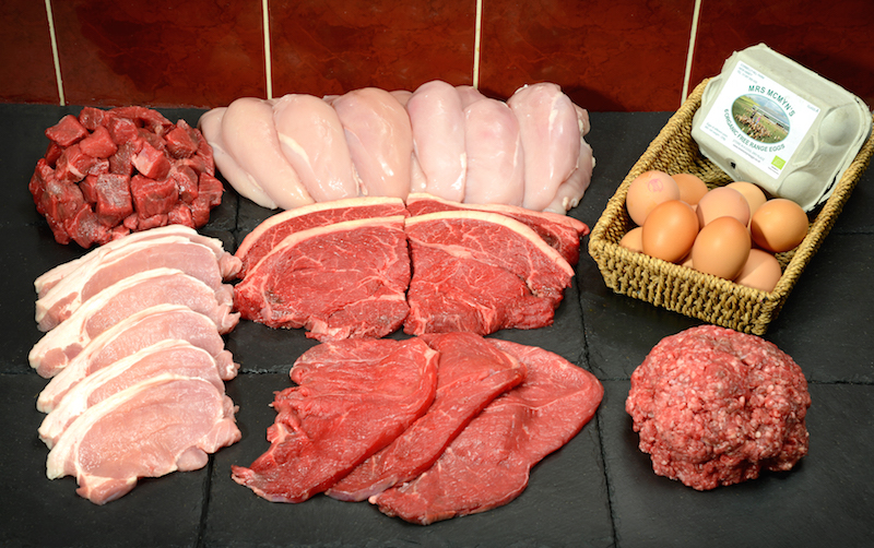 protein meat pack
